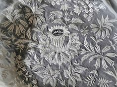 white embroidery Romanian Lace, Textiles, White Embroidery, Cutwork, Couture, French Lace, Needlework, Weaving, Tapestry