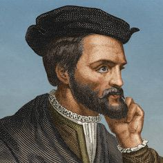 French explorer Jacques Cartier is known chiefly for exploring the St. Lawrence River and giving Canada its name. Jacques Cartier, Fun Trivia Questions, Discover Canada, Francis I, Today In History, St Lawrence, Canadian History, Important People, Norte