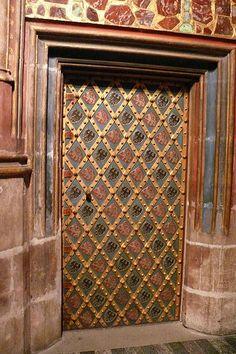 Saint Wenceslas Chapel (St. Vitus Cathedral), Prague, Czechoslovakia