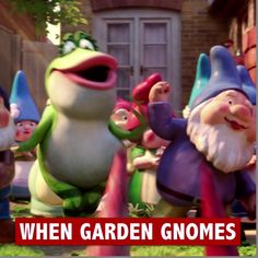 When the gnomes go missing, there's only one gnome for the job. Watch #SherlockGnomes, in theatres March 23!