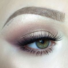 soft & neutral with smokey wing....pretty <3