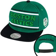 Wholesale Snapbacks NBA Mitchell And Ness x Hats Boston Celtics Green/Black 256 8807! Only $8.90USD