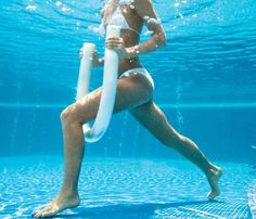 Pool exercises  -- Something different and fun, all you need is a pool and a noodle!