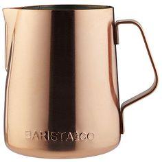 Barista & Co Copper Milk Jug - from Lakeland  LIKE BY  DIAiSM  ACQUIRE UNDERSTANDING ATTAISM  TJANN ATELIER DIA TJANNTEK ART SPACE atElIEr dIA