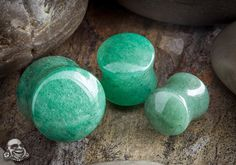 Green aventurine for good luck and dealing with unresolved emotional issues.