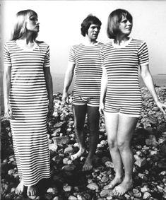 Marimekko Tasaraita tees 1968- #Finland