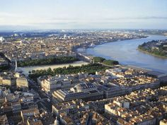 Bordeaux, Aquitaine: This historic and beautiful city located along the Garonne River is a regional trading hub.