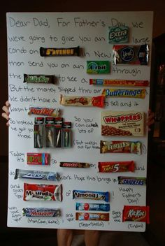 Fathers day. I did something similar last year for my husband and he loved it!