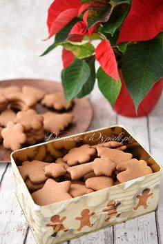 Gluten Free Baking, Gluten Free Recipes, Healthy Recipes, All Things Christmas, Christmas Time, Lactose Free, Christmas Baking, Biscotti, Sweet Recipes