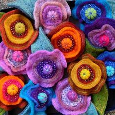 FELTING matters...: EMBELLISHING & BEADING : some hard lessons...