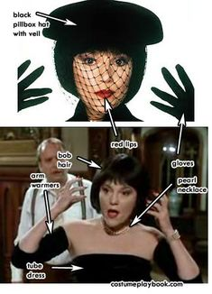 Possible costume for next year - Mrs. White from the Clue movie!