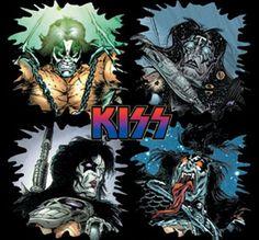 Heavy Metal Rock, Heavy Metal Bands, Kiss World, Kiss Art, Horror Artwork, Extreme Metal, Hot Band, Horror Show, Rock Music
