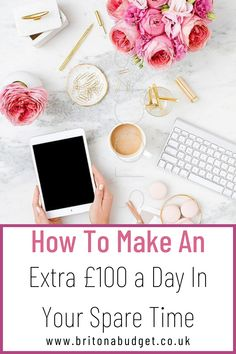 What would you do with a bit of extra cash if you had it? Would you pay off debt, save it or would you treat yourself? If you have a bit of spare time on your hands, here are some ways you can pocket an extra £100 a day for next to no hassle. Ways To Save Money, Money Saving Tips, How To Make Money, How To Become, Frugal Family, Family Budget, Sell Gift Cards, Credit Score, Credit Cards