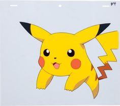 Pikachu: Animation Production Cel. Pokemon. Go!