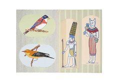 Kintaro Ishikawa, Egiptians with Birds on ArtStack #kintaro-ishikawa #art