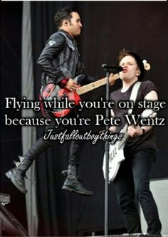 He can do anything he wants because he's Pete