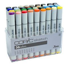 Copic markers are amazing! They're great for blending and creating beautiful works of art.