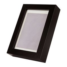 IKEA RIBBA Frame Black 10x15 cm Can be used hanging or standing, both horizontally and vertically, to fit in the space available.