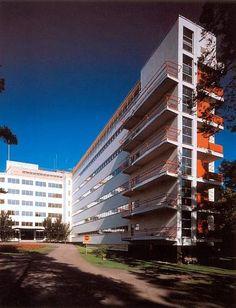 Chapter 27 - Scandinavian Modern - Architecture - Tuberculosis Sanatorium, 1929 - 1933; Paimio, Finland; Alvar Aalto