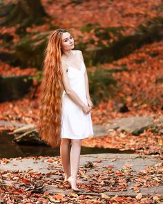Hair Mask For Growth, Super Long Hair, Beautiful Long Hair, Layered Cuts, Female Images, Braided Hairstyles, White Dress, Hair Beauty, Long Hair Styles
