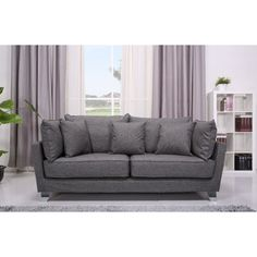 Lexington Grey Sofa - Overstock™ Shopping - Great Deals on Sofas & Loveseats