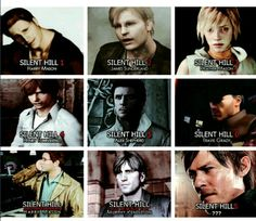 Silent Hill Game (Harry-James-Heather-Henry-Alex-Travis-Harry-Murphy-???)