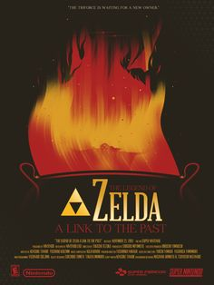 The Legend of Zelda: A Link to the Past | Videogame Posters by Marinko Milosevski
