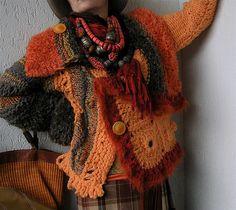 Irish crochet &: Mizzie Morawez.Freeform