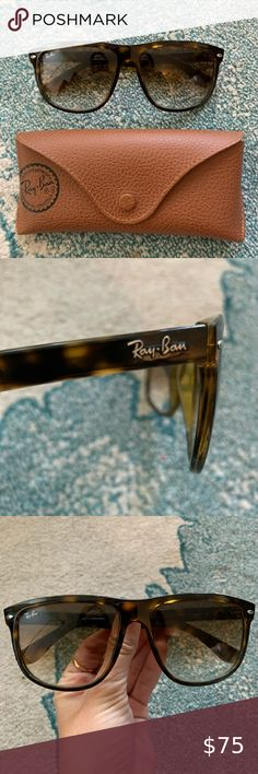 Ray-Ban RB4147 Sunglasses Tortoiseshell 4147 style Ray-Bans. NOT polarized. Near perfect condition (no scratched lenses, stretched out frames, etc). Lens size is 56'15. Ray-Ban Accessories Sunglasses Sunglasses Accessories, Women Accessories, Tortoise Shell, Ray Ban Sunglasses, Lenses, Ray Bans, Frames, Best Deals, Womens Fashion