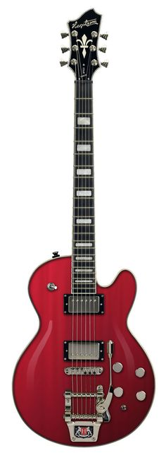 Hagstrom Hagstrom Tremar Super Swede Electric Guitar Wild Transparent Red