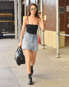 Bella Hadid out in NYC June 30th, 2016! #ImInLoveWithHer