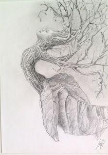 http://lateliermariajosehdez.blogspot.com.es/  Exposición Árboles en las manos y ramas en el pelo. María josé Hdez. Jou Dama de la naturaleza
