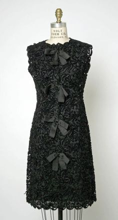 dress ca. 1953 via The Costume Institute of The Metropolitan Museum of Art
