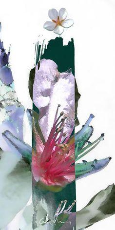 Trazo primaveral. Composición digital by Carolum Art