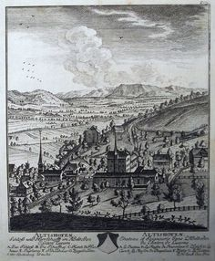 754 David Herrliberger ALTISHOFEN Luzern Schloß und Herrschafft im Adelboden