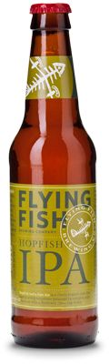 Flying Fish Brewing Co.: Hopfish IPA (6.5% ABV) This is another decent offering from the NJ outfit. Some nice floral tones with a resoundingly bitta IPA flavor. I find it weird they don't have Instagram yet, people really dig this fish. I gave this one a 3.5 on Untappd. Find me on Instagram @BrewFiend see tokiedokie hk's Flying Fish adventures. Prost to Fraterday! Enjoi!