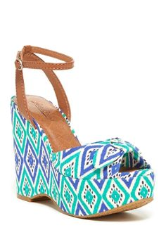 51789292fbba Lucky Brand Viera Platform Wedge Sandal from HauteLook on  shop.CatalogSpree.com