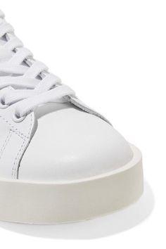 best website 35947 6b6cc adidas Originals - Stan Smith leather platform sneakers