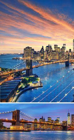 Brooklyn Bridge,New York | TOP 10 Most Amazing Bridges Around the World
