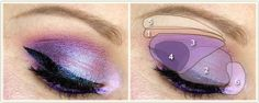 Makeup Your Mind Colorful Makeup, Makeup Yourself, Everything, Purple, Beauty, Beauty Illustration, Viola