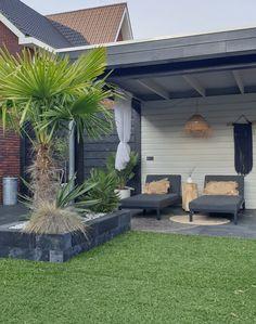 Planter Boxes, Planters, Timber Roof, Getaway Cabins, Backyard, Patio, Garden Furniture, Outdoor Gardens, Pergola