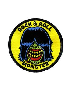 Rock & Roll Monster Patch