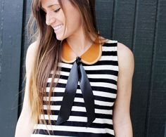 Peter Pan Collar Necklace D.I.Y.