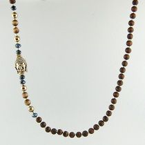 "#zen semi-precious necklace www.tresorsdeluxe.com {enter coupon code ""coupon20"" and save 20% now through 9/28/14} #bohochic #meditate"