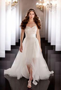beautiful high low wedding dresses 2013 | Editors' Picks: Martina Liana Fall 2013 Collection : Brides