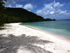 Haputo Beach, Guam <3.  The day I spent here, was the best day of my life!