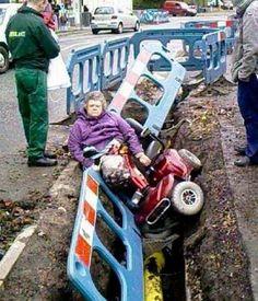 Drunk driving grandma