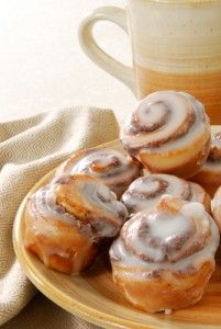 Dr. Oz Low fat cinnabon recipe... Yum!
