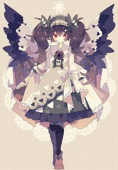 Cute Animal Drawings Kawaii, Kawaii Art, Cute Drawings, Kawaii Anime, Anime Angel Girl, Anime Art Girl, Anime Chibi, Anime Manga, Anime Naruto