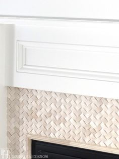 Fireplace Surround...till like the texture, could this be recreated with leather?